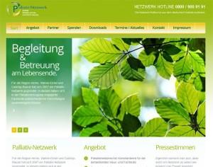 Palliativ-Netzwerk Website
